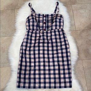Maeve for Anthropologie Plaid Dress